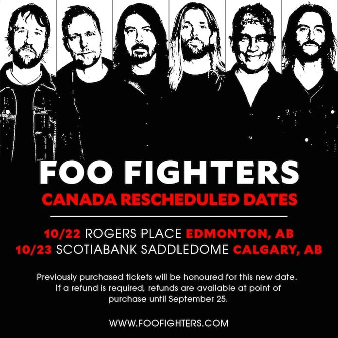 Foo Fighters in Canada