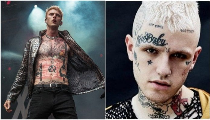 hip-hop samples mgk lil peep
