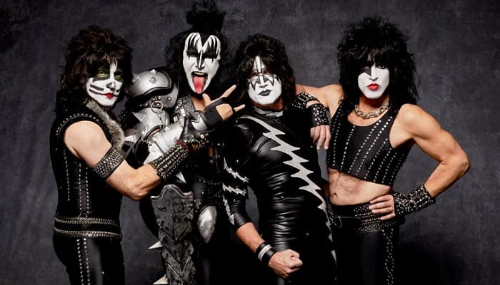 KISS play absurd show for no sharks, eight lucky fans on boat in Australia