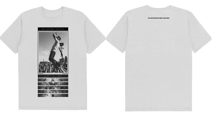 Kyle Pavone tribute shirt