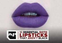 10 Goth Lipsticks