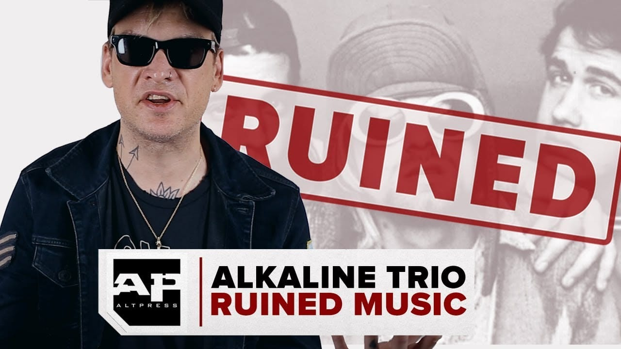 Alkaline Trio can't listen to