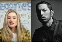 "Iggy Azalea jumps in on Eminem and MGK drama, calls ""Killshot"" ""lazy"""