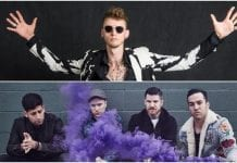 "MGK booed off stage at Fall Out Boy gig for ""Killshot"" drama"