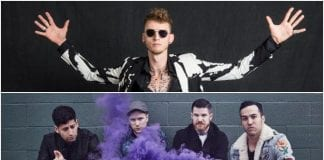 """MGK booed off stage at Fall Out Boy gig for """"Killshot"""" drama"""
