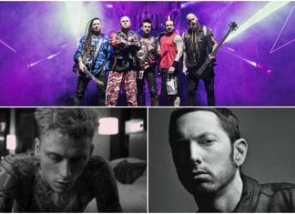 Five Finger Death Punch's Ivan Moody weighs in on Eminem, MGK beef