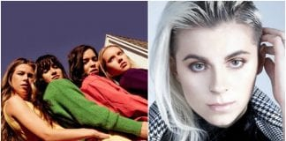 Lynn Gunn joins the Aces onstage