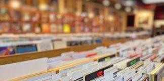 vinyl record store shop