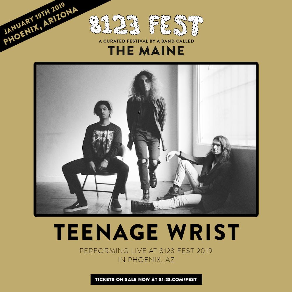 the maine 8123 fest teenage wrist