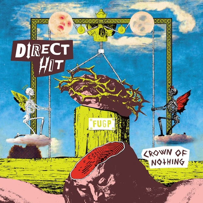 direct hit crown of nothing cover