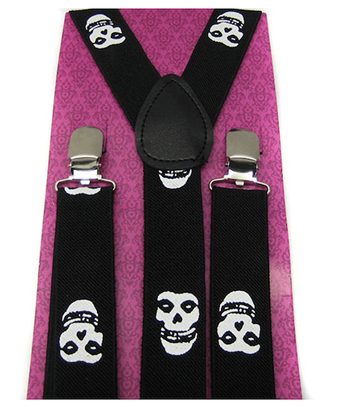 Iconic scene item - misfits suspenders