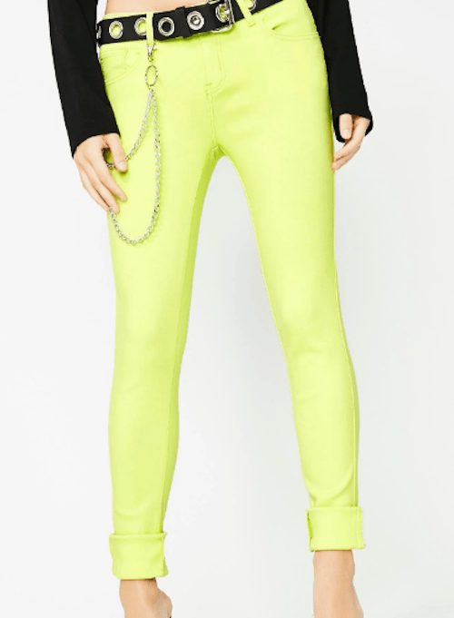Iconic scene item - neon skinnies