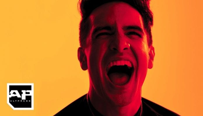 PANIC AT THE DISCO-2018-altpress panic! at the disco brendon urie