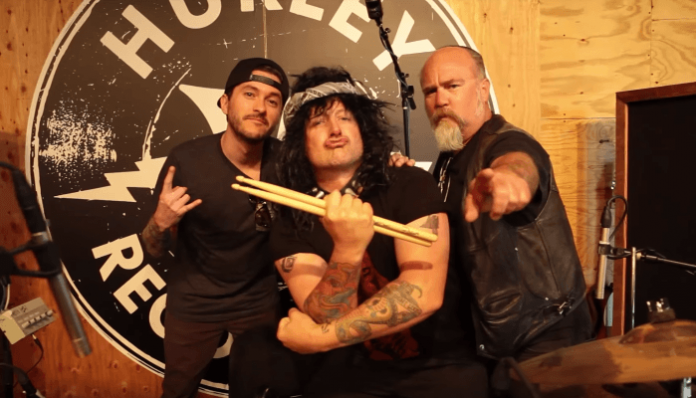 "Listen to Green Day drummer's ""Icelandic death metal"" band"