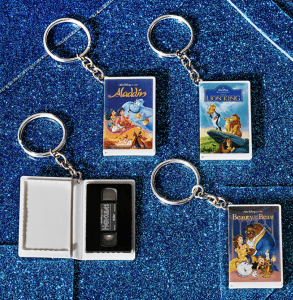 VHS keychains - 90s collection