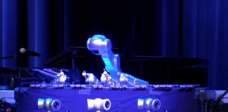 Music-making robot plays alongside musicians, has its own band