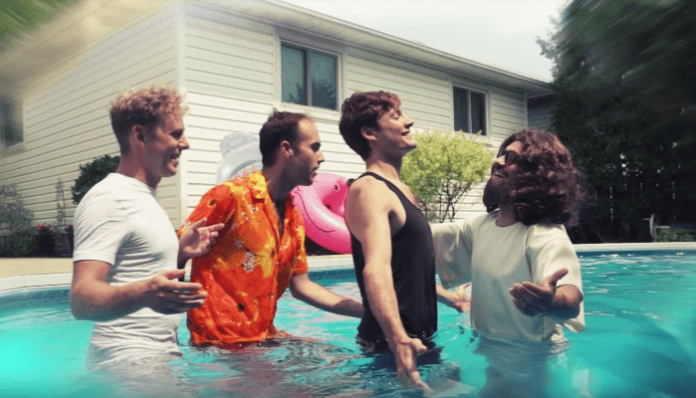 "Jesus Christ drowns the Dirty Nil in ""That's What Heaven Feels Like"" music video"