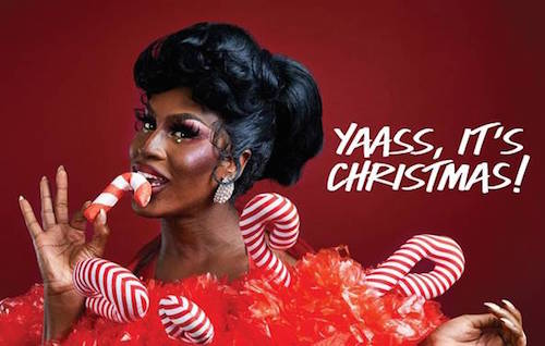 Shea Coulee Holiday Look