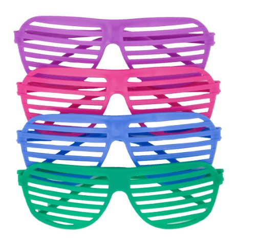 Iconic scene item - shutter shades