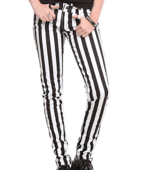 Iconic scene item - striped pants