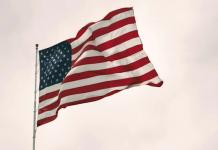 american flag vote