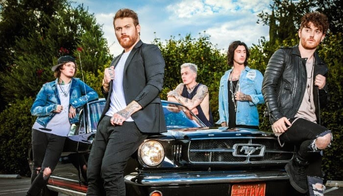 "Asking Alexandria ""ready to go"" with next album's release, Ben Bruce says"