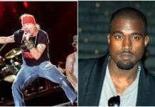 Axl Rose, Kanye West
