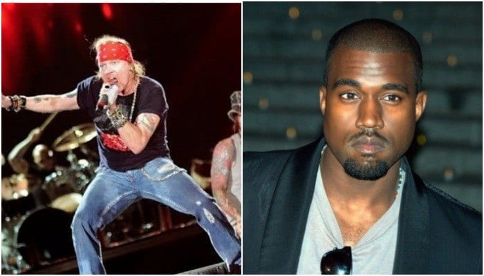 "Axl Rose calls Kanye West's meeting with Donald Trump a ""joke"""