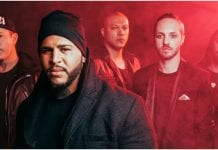Bad Wolves new band pic, Facebook, 2018