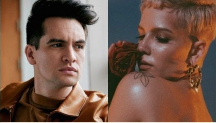 Panic! At The Disco's Brendon Urie and Halsey