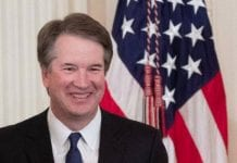 Brett Kavanaugh at the White House