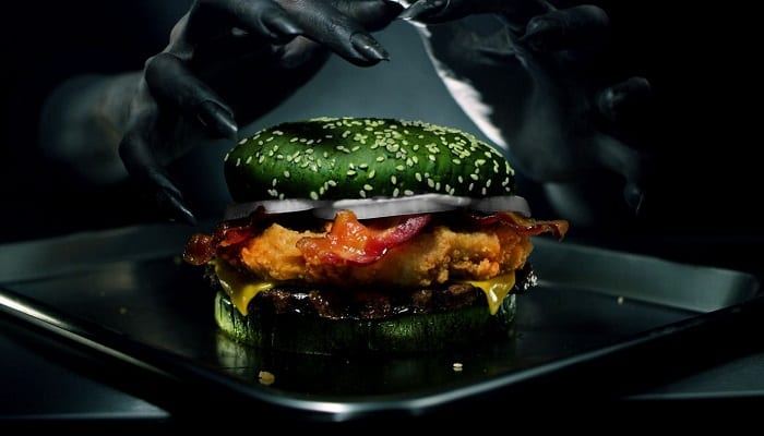 Burger King says its Halloween burger will give you nightmares