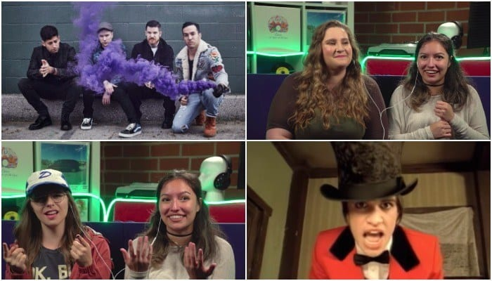 Watch college kids react to our favorite 2000 pop punk bands