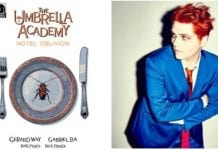 Gerard Way and his new series, Oblivion