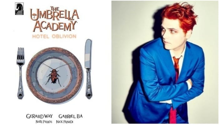 Gerard Way shares 'Umbrella Academy' trailer—watch