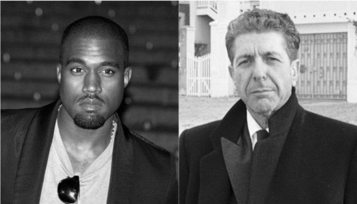 Kanye West and Leonard Cohen