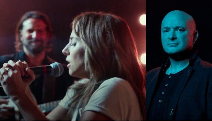 Lady Gaga and David Draiman
