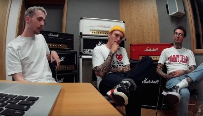 Neck Deep singer Ben Barlow talks mental health