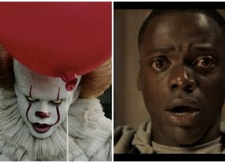 pennywise, get out funny horror