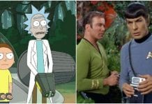 Star Trek, Rick And Morty