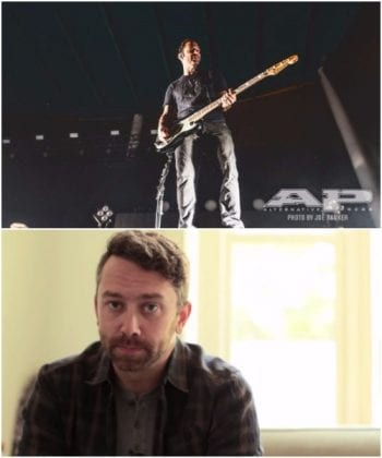 Rise Against Joe Principe and Tim McIlrath