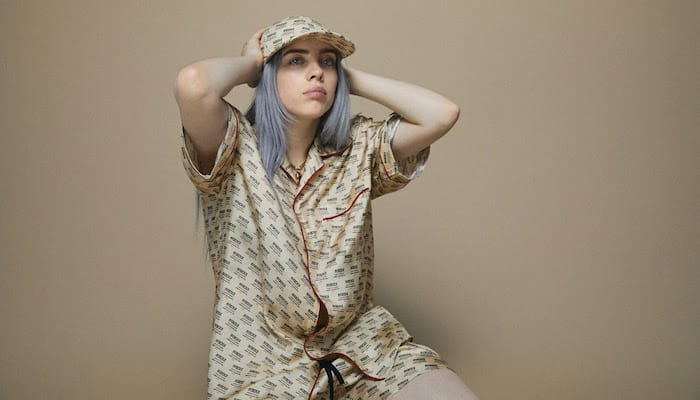 Billie Eilish shares somber new song, launches charity effort