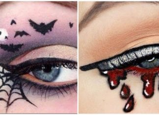halloween eyeliner
