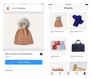 Instagram pt. 1 shopping