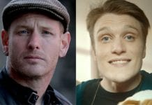 Neck Deep singer Ben Barlow and Corey Taylor of Slipknot.