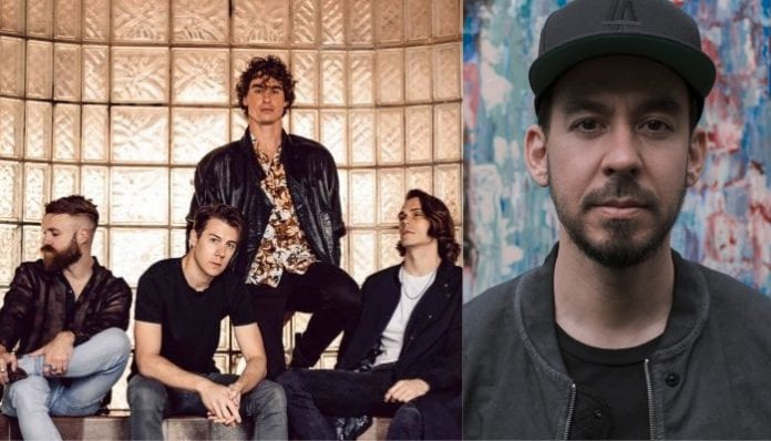 Don Broco and Mike Shinoda of Linkin Park.