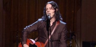 Jack White at the White House.