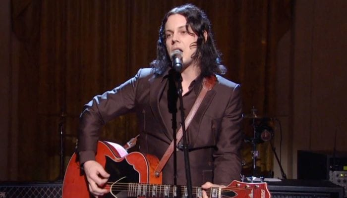 Jack White at the White House