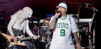 Limp Bizkit perform live.