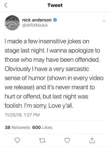 nick anderson the wrecks apology 002